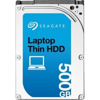 """Seagate Laptop Thin HDD 500GB 2.5"""" 7200RPM Sata 3.0 32Mb Notebook Disk ST500LM023"""