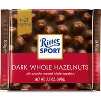 Ritter Sport Dark Whole Hazelnuts 100 gr