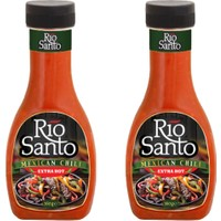 Rio Santo Meksika Ekstra Acı Biber Sosu 2 Adet x 360 ml