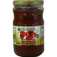 Kök Organik Acı Kırmızı Biber Salçası 650 gr