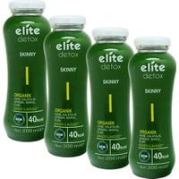 Elite Organik Deto x Skınny Meyve Suyu 4 Adet x 200 Ml