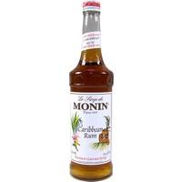 Monin Şurup Rum Caribbean - Vanilya Ve Şeker Kamışı Aromalı 70 cl