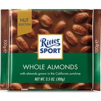 Ritter Sport Whole Almonds 100 gr