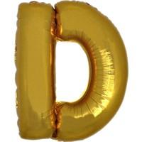 Alpenhaın d Harfi Altın Folyo Balon 1 Metre