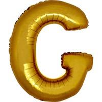 Alpenhaın g Harfi Altın Folyo Balon 1 Metre