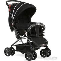 Rival Lucido Çift Yönlü Bebek Arabası Siyah