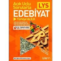 Açık Uçlu Sorularla LYS Edebiyat Türkiye'de İlk İzlem Yayınları