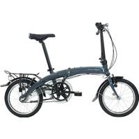 """Dahon Curve I3 16"""" Katlanır Bisiklet 2017 Gri"""