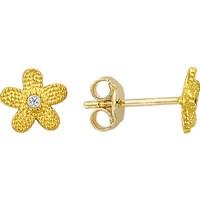 Altınsepeti Altın Küçük Çiçek Küpe As244Kp