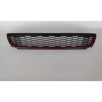 Volkswagen Polo 6R 2009 2013 Gti Kırmızı Tampon Orta Izgara