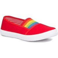 Polaris 71.509219.P Kırmızı Kız Çocuk Ayakkabı