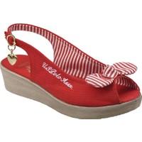 U.S. Polo Assn. A3352500 Kırmızı Kız Çocuk Sandalet