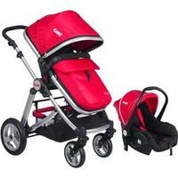 Kanz Kz4009 Fernanda Travel Sistem 0 - 13 Kg Bebek Arabası - Kırmızı
