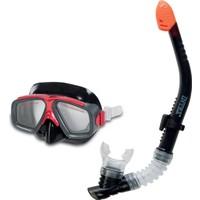 İntex Şnorkel & Maske Set (Siyah)