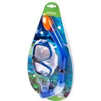 İntex Şnorkel & Maske Set (Mavi)