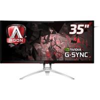 "AOC AG352UCG 35"" 100 Hz 4ms (2xHDMI+Display) 4K UHD Curved GSnync MVA Oyuncu Monitörü"
