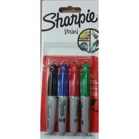 Sharpie Mini 4 Renk Set