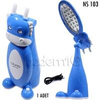 Onas 20 Led Oyuncak Mavi Masa Lambası Ns-103