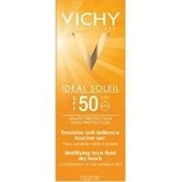 Vichy Ideal Soleil Emulsion Dry Touch Spf 50 Faktör Güneş Kremi