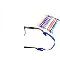 Lux Silikon Çocuk Gözlük Bandı (Siyah)