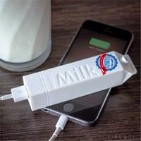 Gift Box Milk Powerbank 2600 Mah - Beyaz
