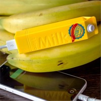 Gift Box Milk Powerbank 2600 Mah - Sarı