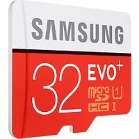 Samsung EVO Plus 32GB 95 MB/s microSDHC Kart (SD Adaptör) MB-MC32GA/TR