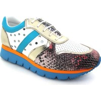 Drexel Full Comfort 20225 Beyaz - Mavi Deri Günlük Kadın Ayakkabı