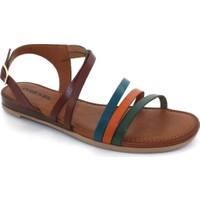 Drexel Taba Deri Kadın Sandalet