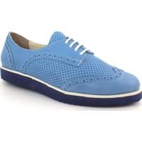 Drexel 549 Mavi Günlük Deri Kadın Ayakkabı