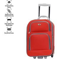 Corinas Kırmızı Küçük Boy Bavul 2 Teker