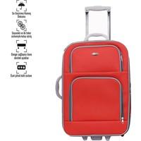 Corinas Kırmızı Orta Boy Bavul 2 Teker