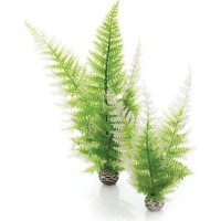 Biorb Plastik Bitki 25 Cm Yeşil Beyaz İkili Pl10