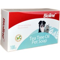Bioline Kedi Köpek İçin Çay Ağacı Özlü Sabun 100 Gr
