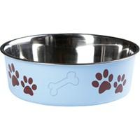Karlie Bella Kedi Köpek Mama Kabı Mavi 21Cm