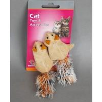 Eastland Kedi Otlu Hışır Peluş İkili Sincap Oyuncak