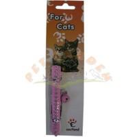 Eastland Çıngıraklı Deri Kedi Boyun Tasması