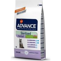 Advance Cat Sterilized Hairball Kısır Tüy Yumağı Engel Kedi Maması 1,5 Kg