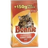 Bonnie Cat Beef Kırmızı Etli Yetişkin Kuru Maması 350 Gr + 150 Gr Bonus