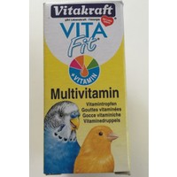 Vitakraft Vita Fit Kuş Multivitamin 10 Ml