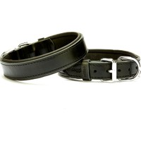 Doggie Comfort Sade Boyun Tasması Siyah 3,0 X 55 cm