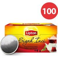 Lipton Demlik Poşet Çay Siyah İnci 100'Lü