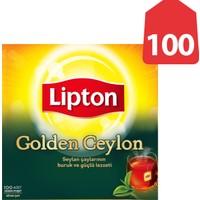 Lipton Bardak Poşet Çay Golden Ceylon 100'Lü