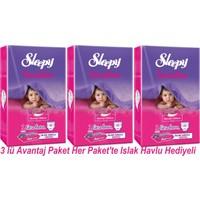 Sleepy Sensitive 1 Newborn 40 Adet (0-3 Kg) 3 lü Avantaj Paket