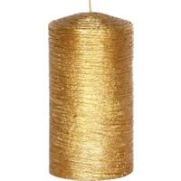 Altıncı Cadde Era Gold Silindir Mum Altın 8x13 Cm