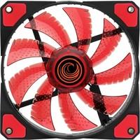 Gamemax GF-F1236R 33 LED 12cm Kasa Fanı (Kırmızı)