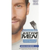 Just For Men Moustache & Beard Sakal Bıyık Şampuanı Mediumdark Brown M-40