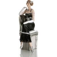 Vitale Bella Koltukta Elbiseli Kadın Biblo