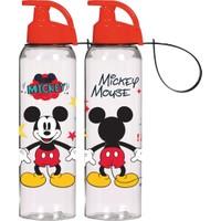 Tantitoni Plastik Mickey Mouse Su Şişesi - 750 ml