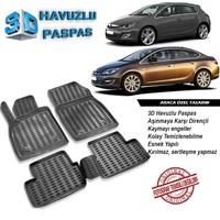 Opel Astra J 3D Havuzlu Paspas A+Plus